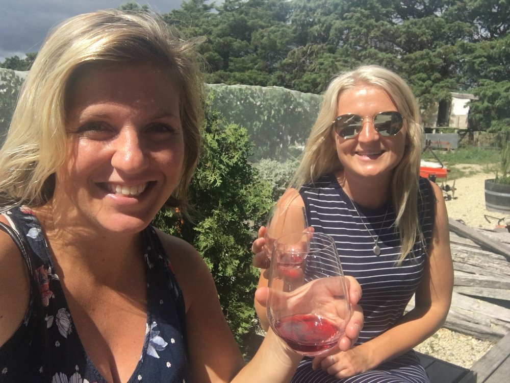 Girls weekend in Martinborough with Blaire