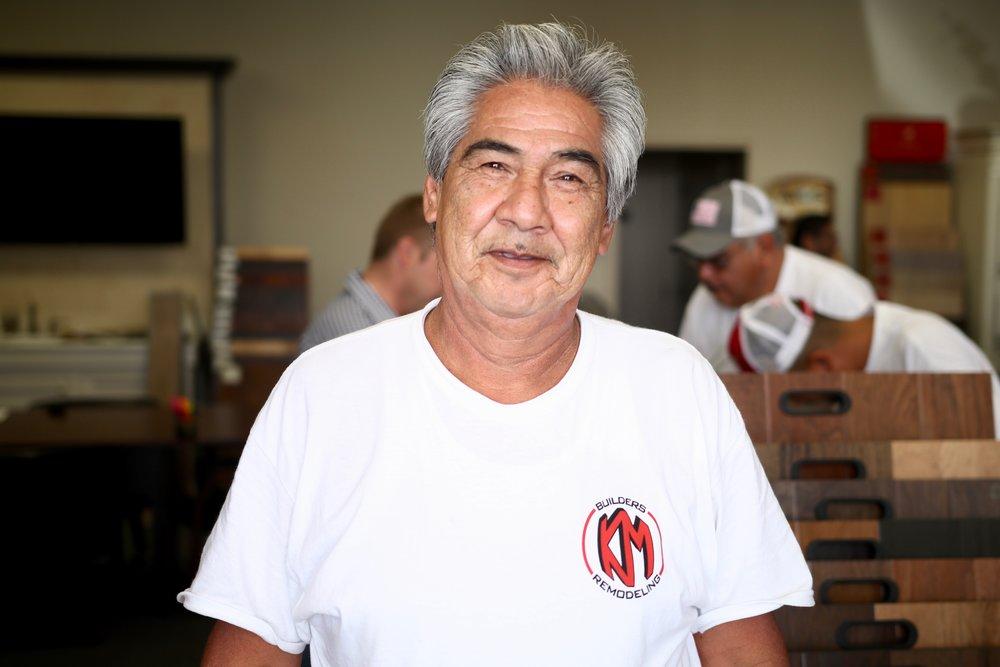 Abel Dominguez - Finish Crew - August 2018
