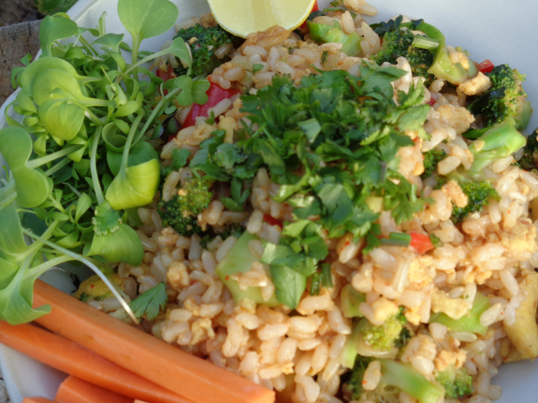 Red Fried Rice