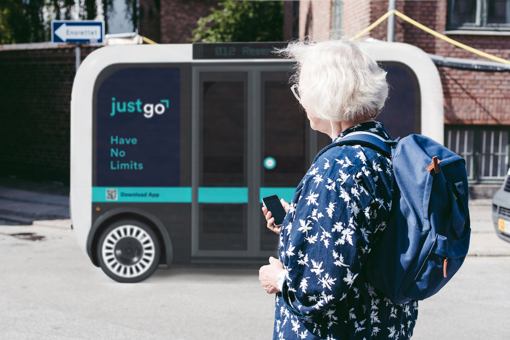Just Go - Service to enhance the future of mobility for seniors in the city- Service Design -