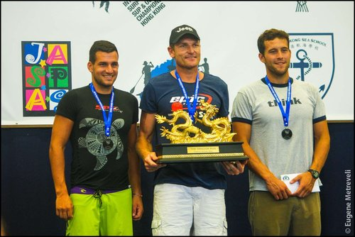 Podium 2015. Adrian Boros, Hank and Sean