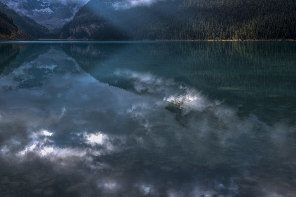 Lake Louise Reflection, Alberta