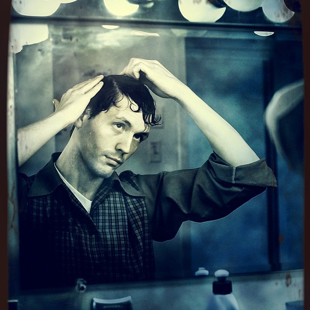 ClintonBPhotography | Drew backstage during All My Sons
