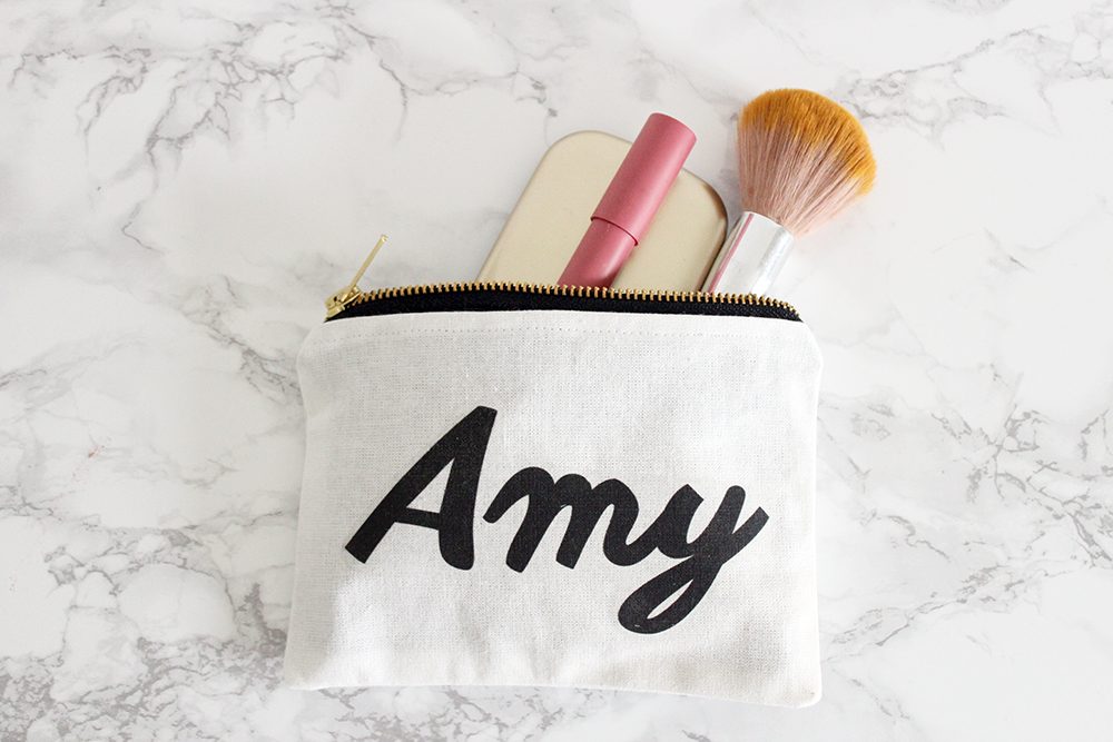 Fox and Lilly Make-up Pouch