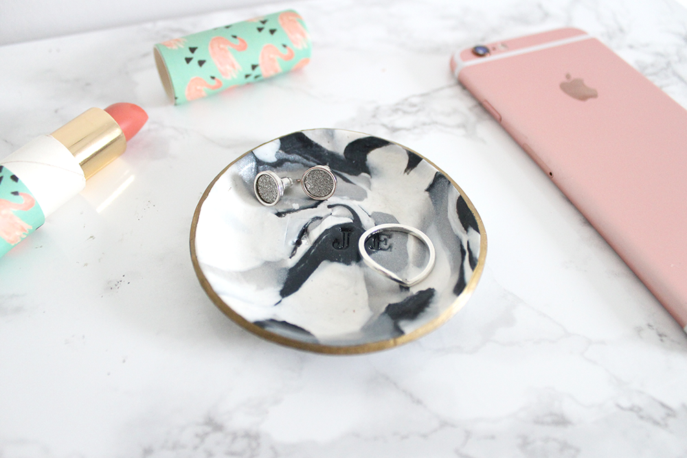 Fox + Lilly Marble Dish