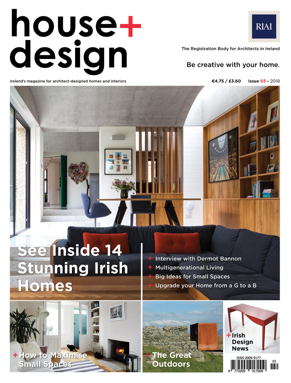 RIAI HOUSE + DESIGN_ISSUE3. RIAI HOUSE + DESIGN MAGAZINE