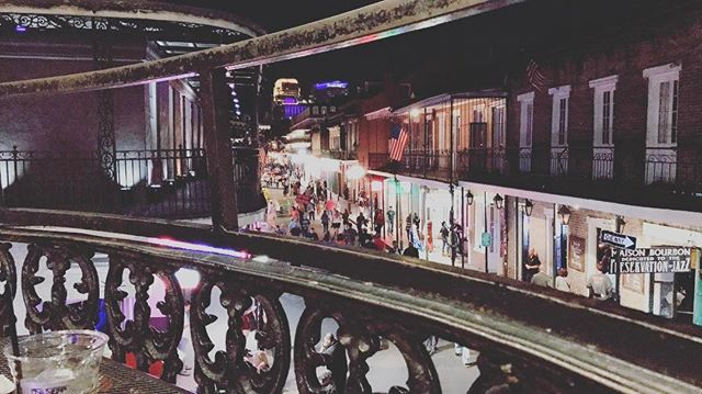 Bourbon street #neworleans #roadtrip #usa #adventure