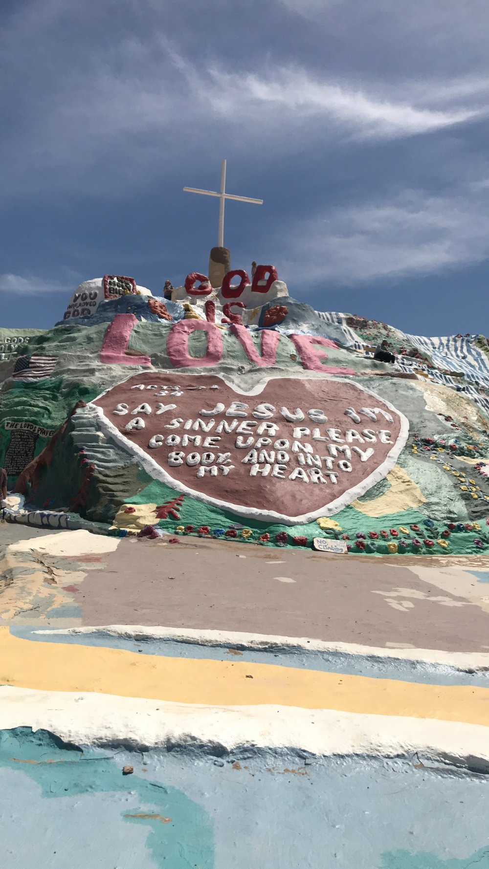 - SALVATION MOUNTAIN