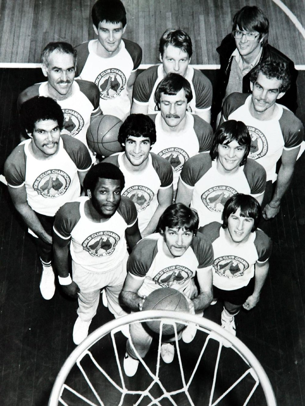 Danny Morseu, Brian Kerle and St Kilda's 1980 NBL champion team