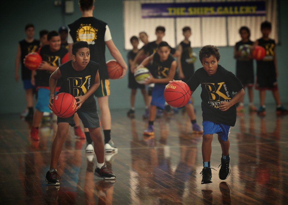 INDIGENOUS BASKETBALL CLINICS - The clinics introduce Aboriginal and Torres Strait Islander youth to the game of basketball to increase participation rates and increase their current knowledge, skills and enjoyment of the game.  The clinics provide opportunities for players to be mentored in personal growth in terms of leadership skills, teamwork and confidence and help us achieve our overall goal of reinforcing the importance of a healthy lifestyle and a good education.