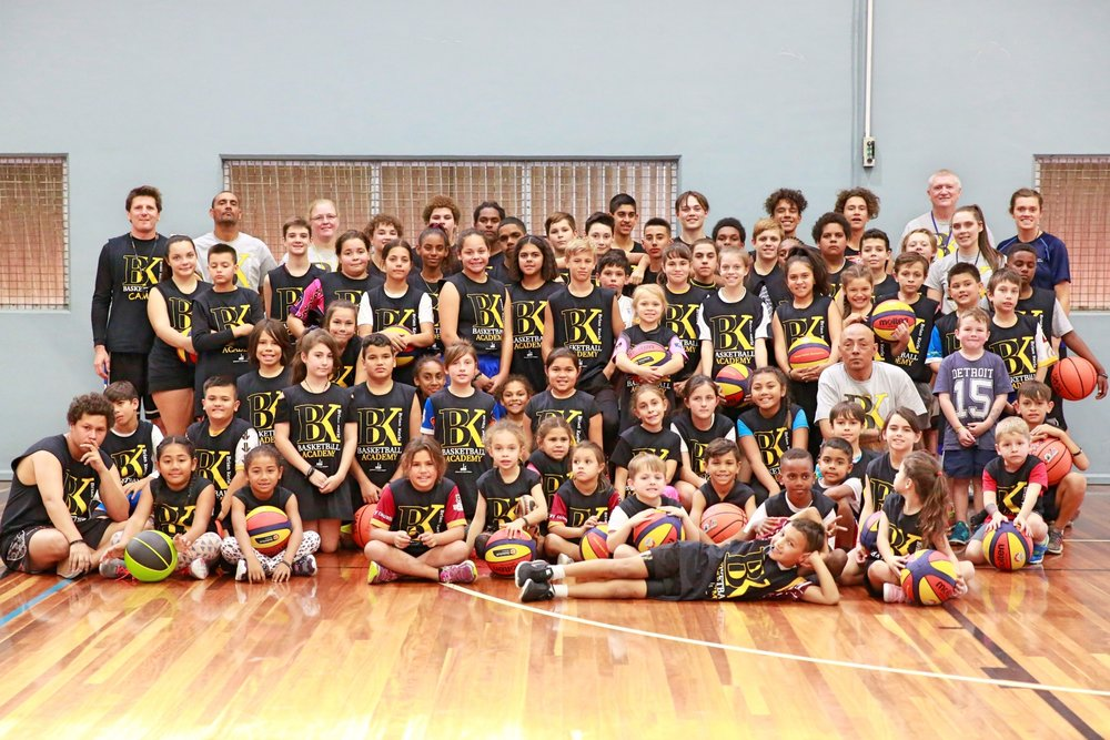 Brisbane City Council April 2017 Indigenous Basketball Clinic.