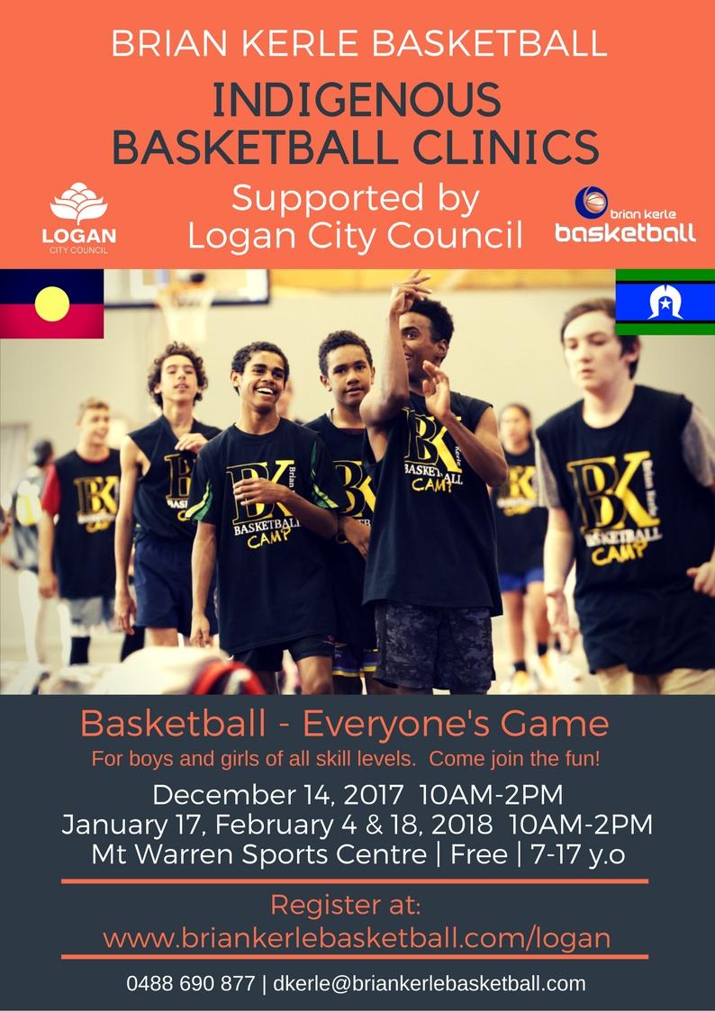 Logan City Council Indigenous Basketball Clinics