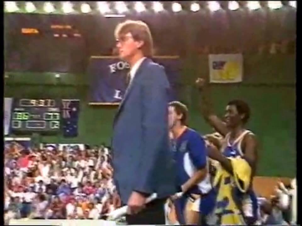 Brian Kerle Basketball Brisbane Bullets
