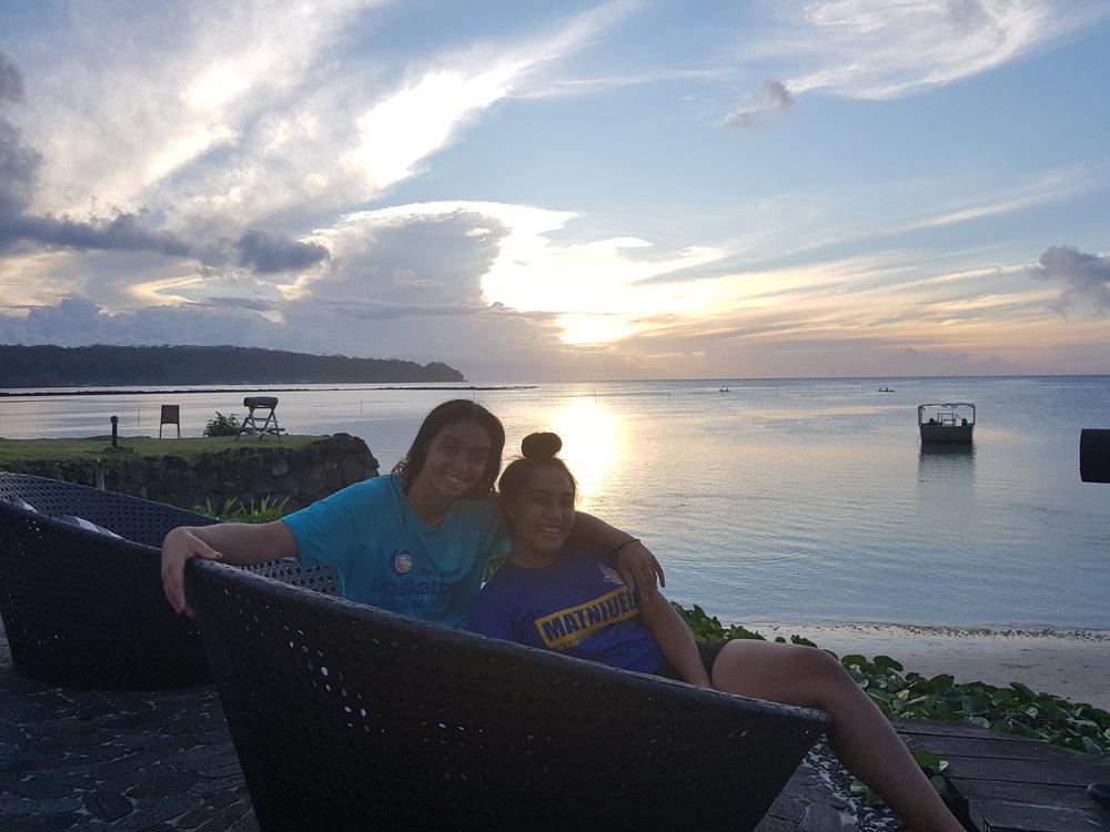 Samoa 2018 Brian Kerle Basketball