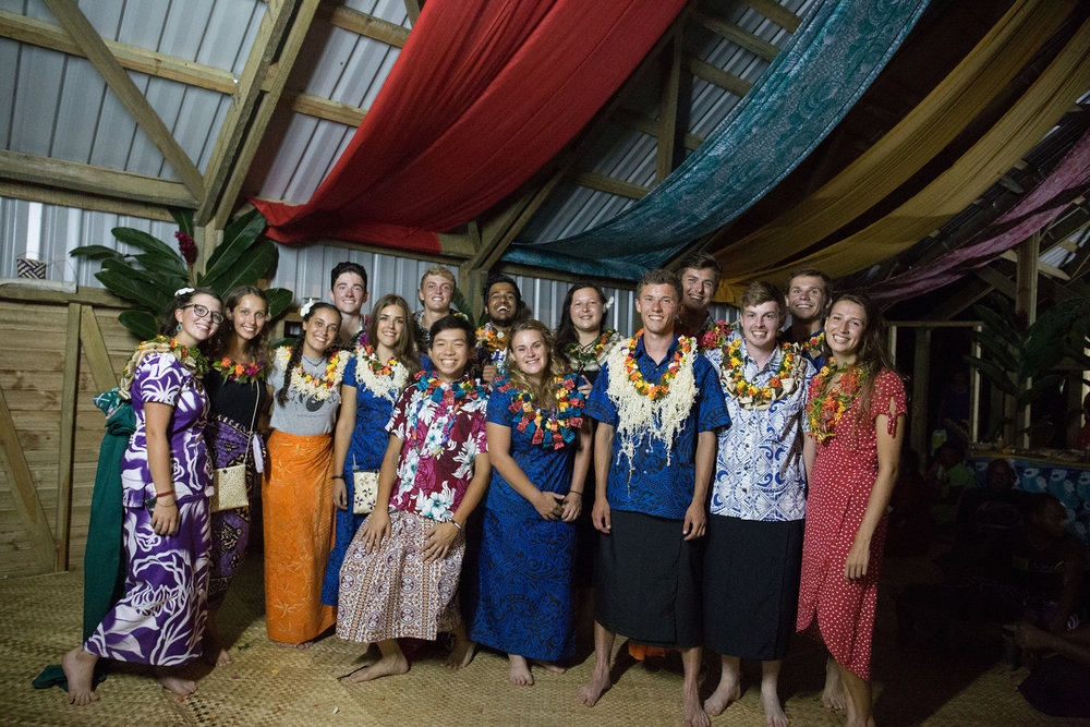 The Vivili Community Hall Volunteers