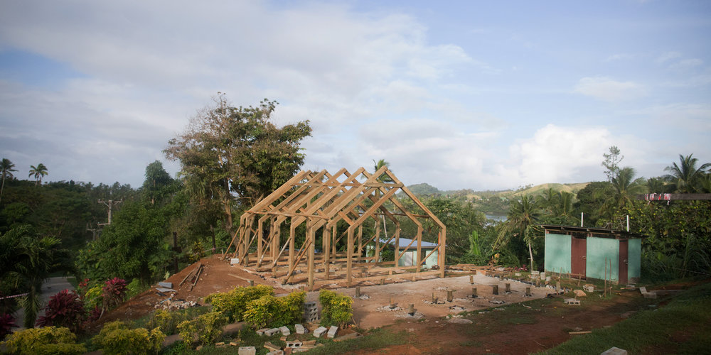 VIVILI , FIJI - COMMUNITY HALL