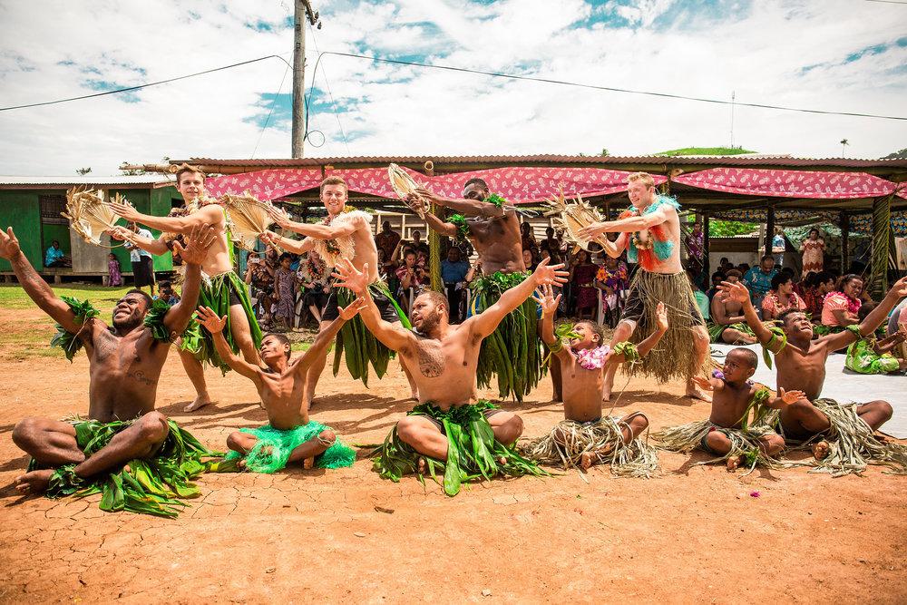 Dancing the 'Meke' in Fiji