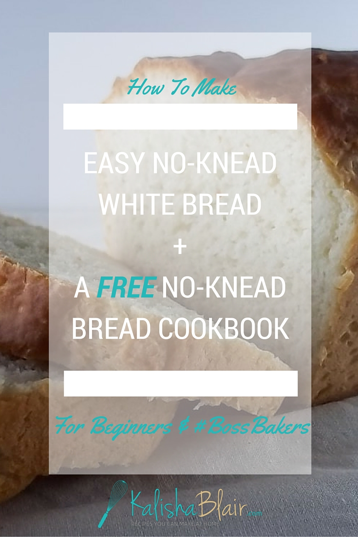 Learn how to make no knead bread the easy way with this recipe.  Perfect for beginner bread bakers!