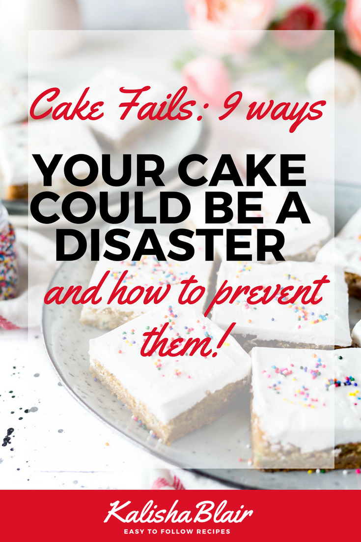 Cake fail prevention