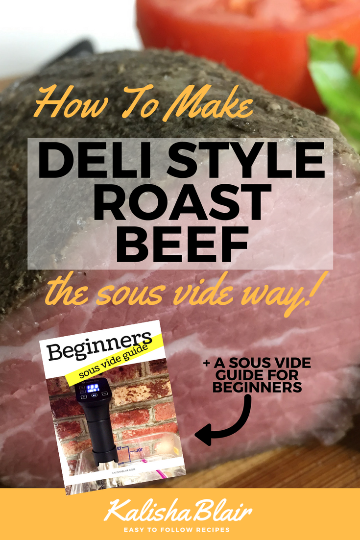 sous vide deli roast beef
