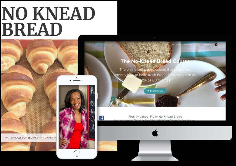 No Knead Bread Course