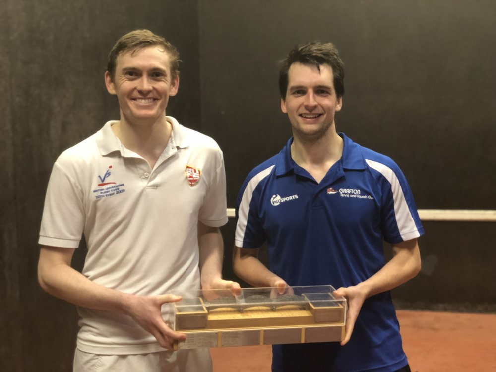 Ed and Will with the Barnes Bridge. Will has now won it 9 times- the only person with more victories is Dave Hebden (14).