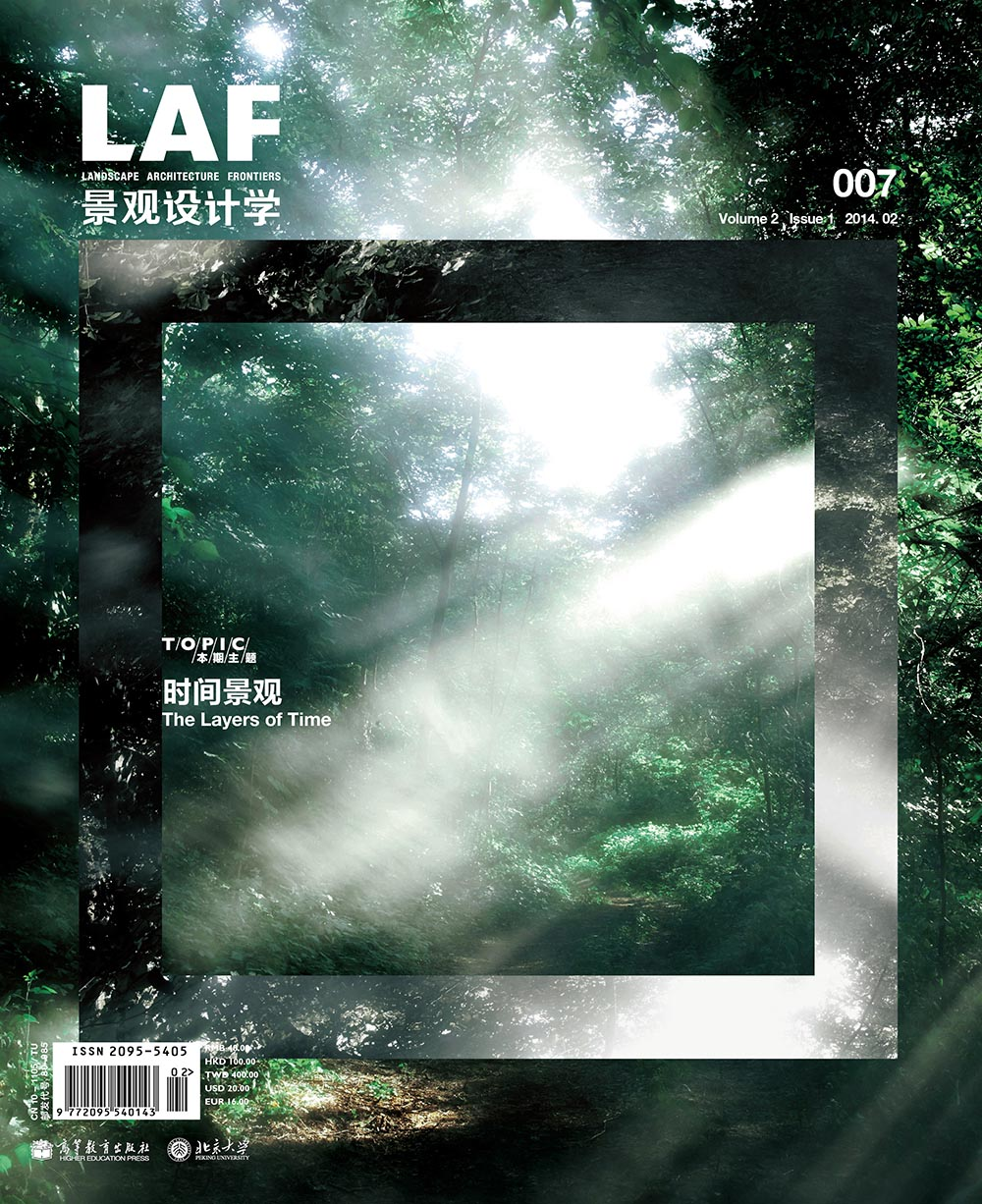 Alps as Process   - Engaging Montane Switzerland as an Operating Urban Ecology   Daia Stutz in:  LAF Landscape Architecture Frontiers, Vol. 2, Issue 1: Layers of Time, 2014
