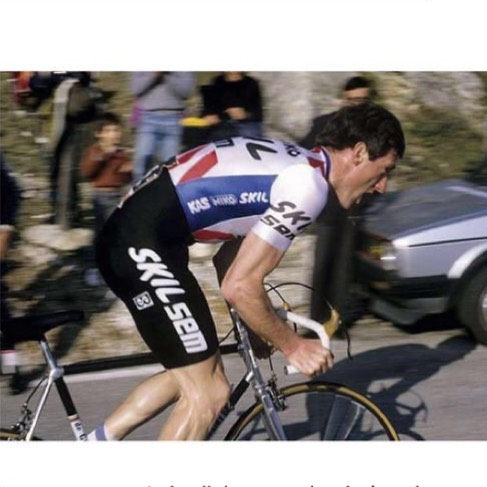 Knowing your strenghts and limiters is a very important aspect of improving as a rider. Kelly won PN no less than 7 times. Hire a coach. #paris #nice #seankelly #skill #pro #cycling #winner #hero - - - - - #output #outputcycling #bile #sun #80s #racing #golf #fitness #power #training #personaltrainer #coach #trainingpeaks #level2 #certified