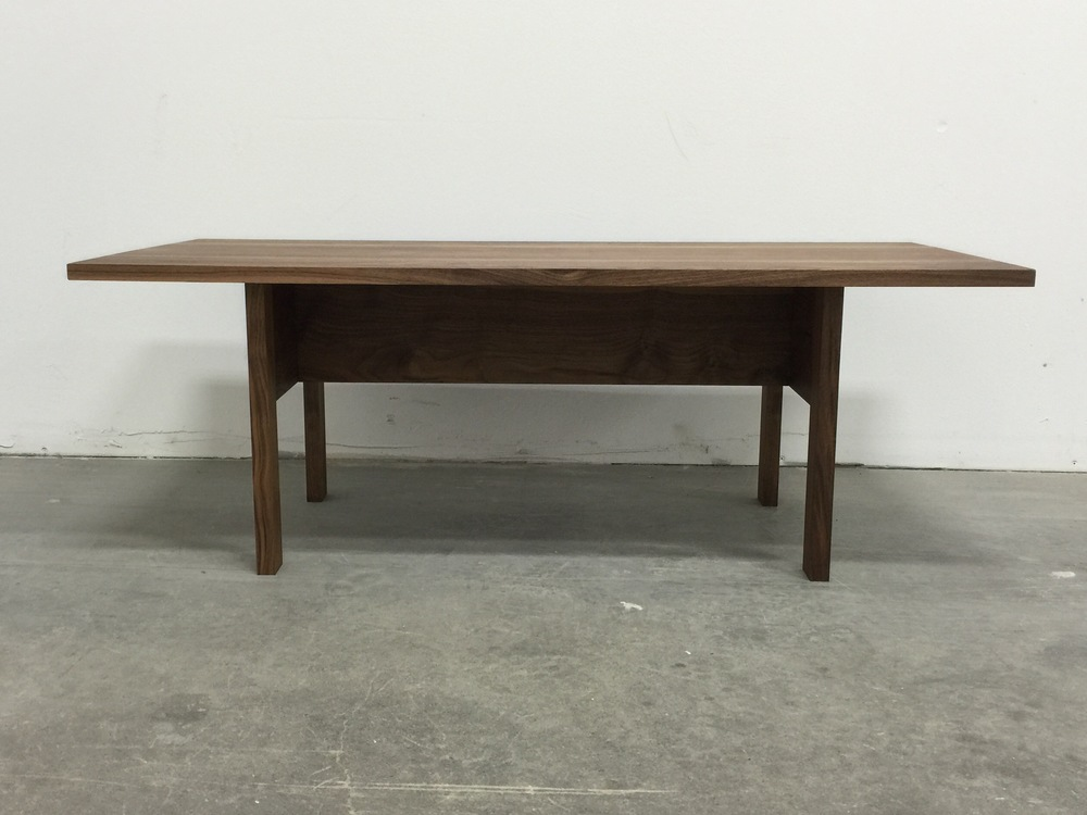 Walnut Modern Dining Table