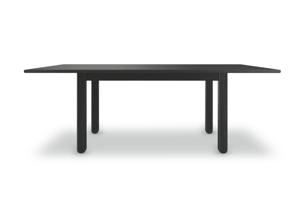 Dining Table 001 in all black