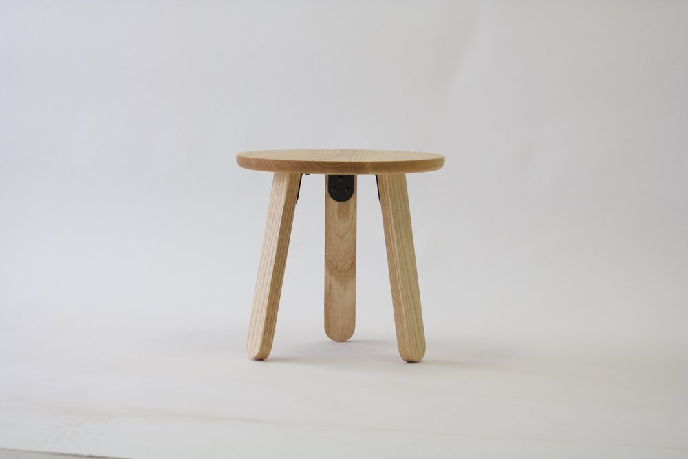 Side Table in Ash