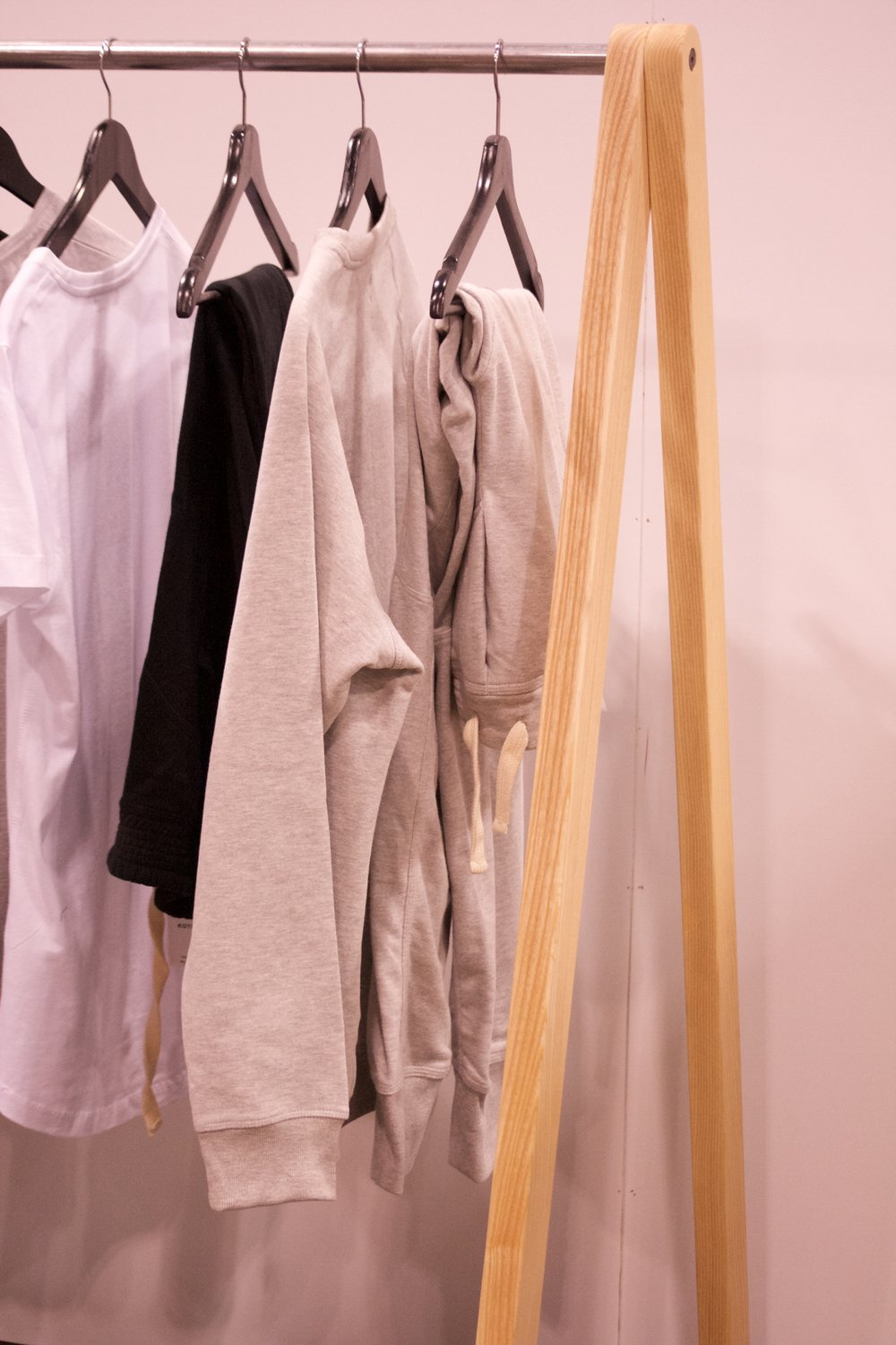 Clothes Rack on Display