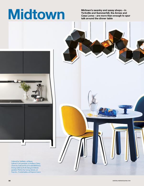 Modern furniture in Toronto