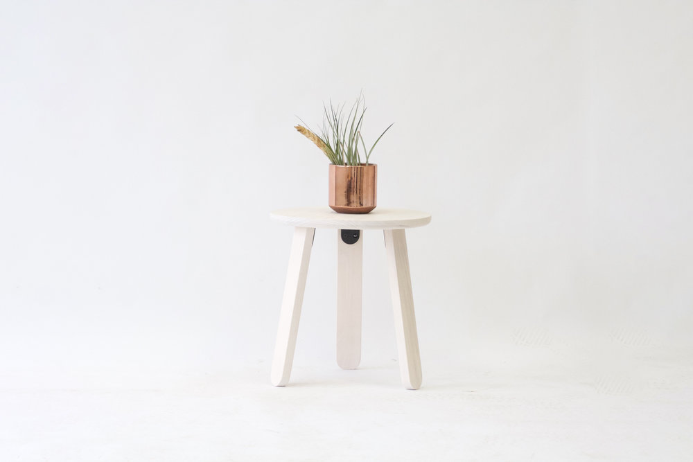 Modern White Side Table
