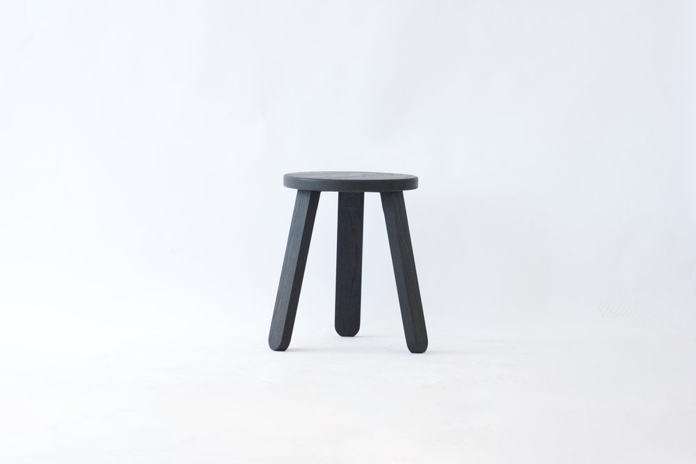 All Black Stool - Sold