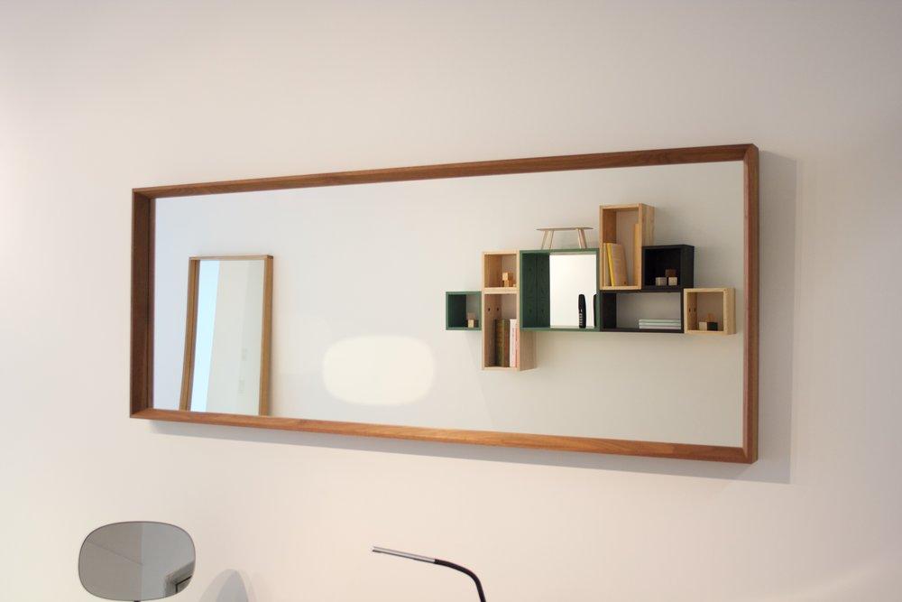 Walnut Mirror - Sold