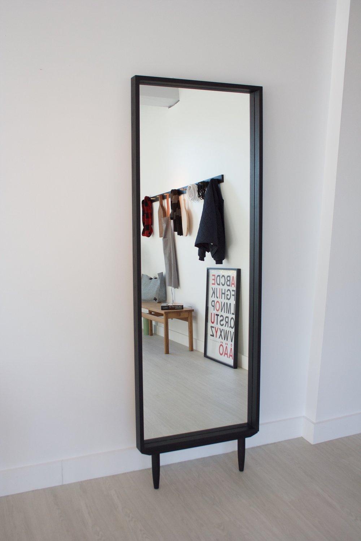 Floor Mirror - All black - $695