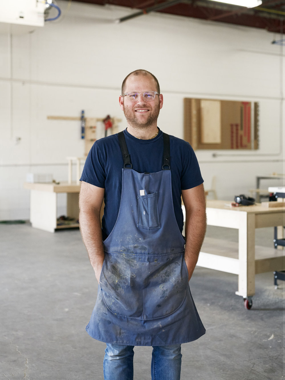 Founder + Lead Designer, Dustin Kroft  //  Photo Credit: Nathan Cyprys