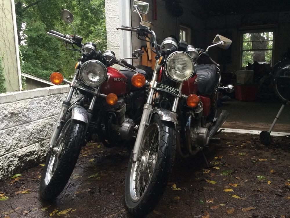 1978 Honda CB750 1980 Honda CB650