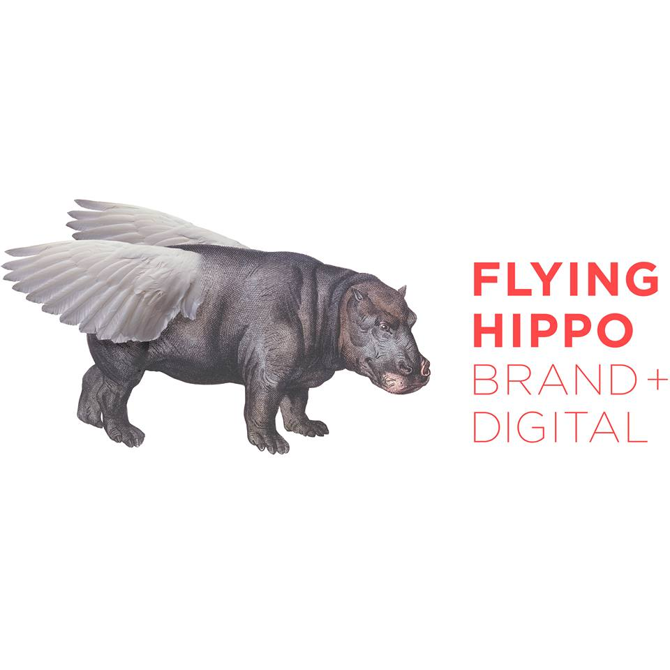 Flying Hippo branding and digital marketing