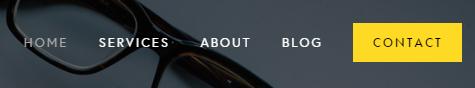 Squarespace navigation bar (navbar)