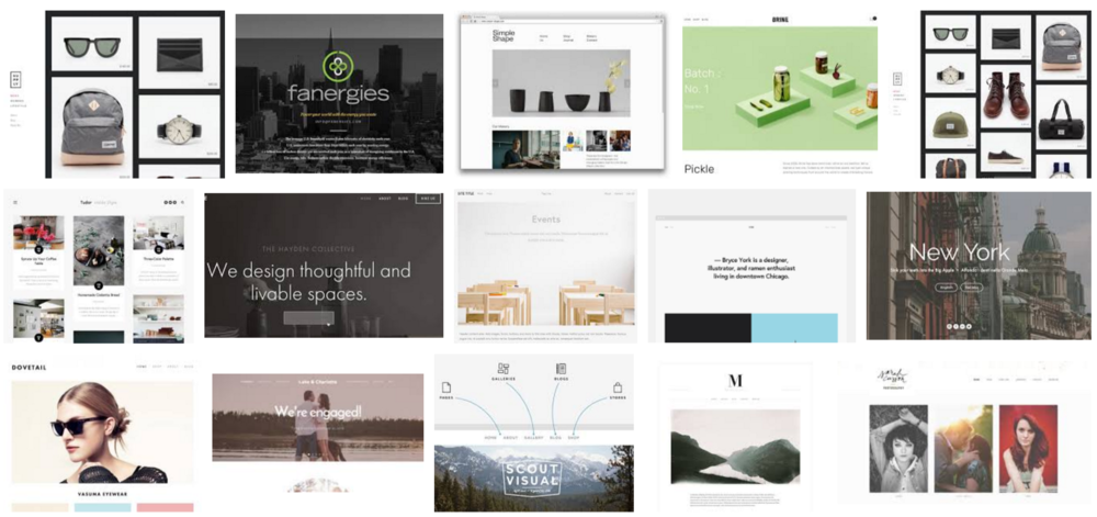 Choosing The Best Squarespace Template Logical SEO - Best squarespace template for photographers