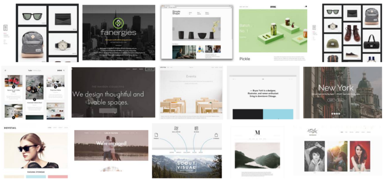 Choosing the best squarespace template logical seo choosing the best squarespace templates pronofoot35fo Gallery