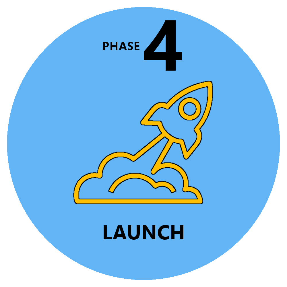Web design: launch