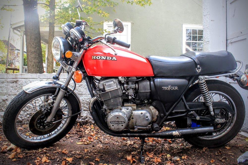 Motorcycles (1978 Honda CB750)
