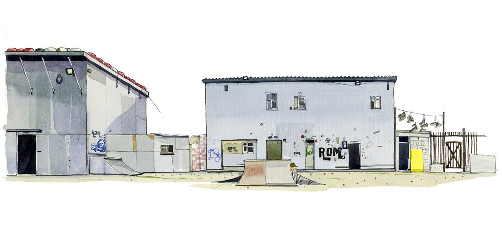 Rom Skatepark, Romford.