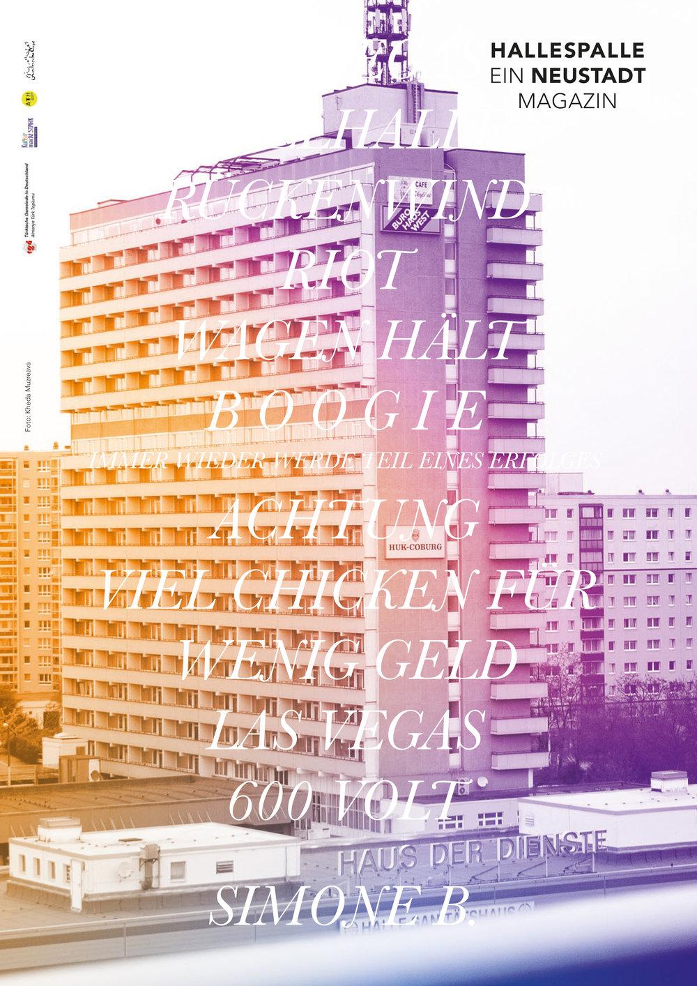 Design: Franziska Klose / Bild: Khed Muzraeva