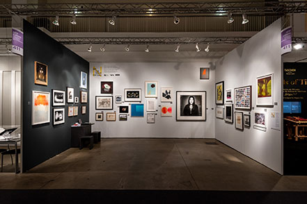 Field Editions, Tate Editions and Royal Academy of Arts at NFP Editions at Expo Chicago 2018. Photo Courtesy of Expo Chicago.