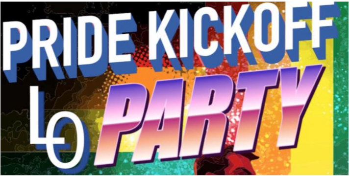 Pride Kickoff Party  - 10:00 PM - 2:00 AM
