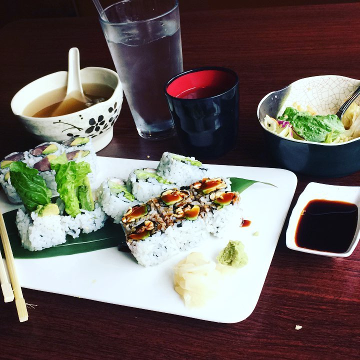 A+ Sushi (202 Bank St) - If you're a fan of Sushi, you'll want to try A+ Sushi on Bank Street. Along with classic rolls, they have some special creations (like the Sushi PIZZA!) that are a MUST. Get away from that campus food and experience the best all-you-can-eat!